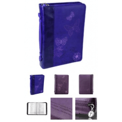 Fourre de Bible - therefore if anyone is in Christ - large