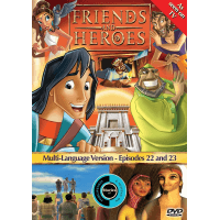 FRIENDS AND HEROES EPISODE 22 AND 23 DVD