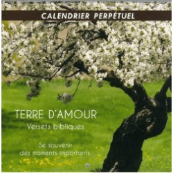 Calendrier Terre d'amour